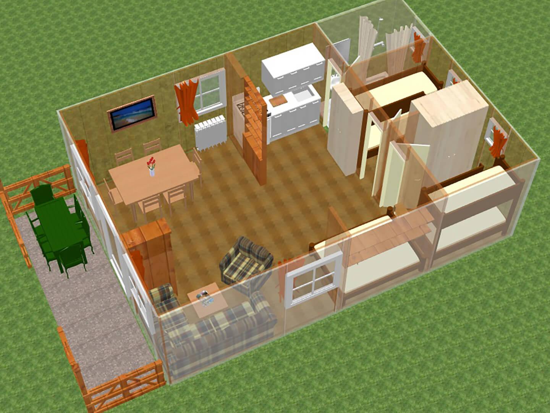 3D Ferienhaus