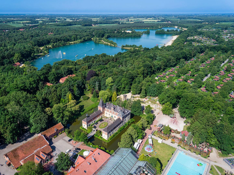 Luftbild Schloss Dankern